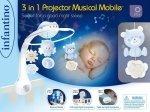 Muzyczna karuzelka Infantino 3w1 niebieska