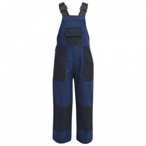 Dziecięcy kombinezon roboczy, rozmiar 110/116, niebieski