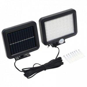 Lampa solarna z czujnikiem ruchu, białe LED