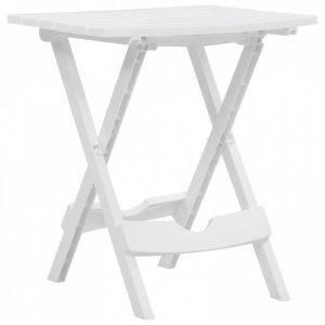 Składany stół ogrodowy, 45,5x38,5x50 cm, biały