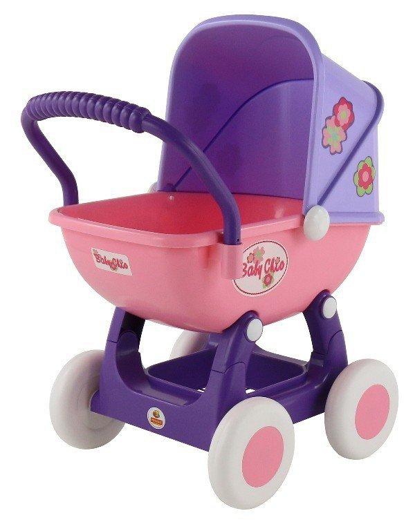 WADER-POLESIE Wózek dla lalek Arina 4-kolowy