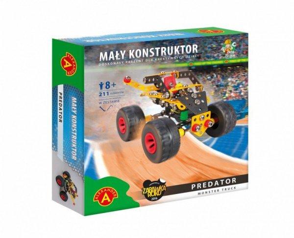 Alexander Zestaw konstrukcyjny Mały Konstruktor Monster Truck - Predator