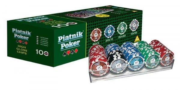 Piatnik Żetony do Pokera 100