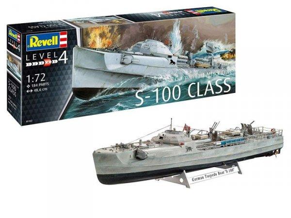 Model plastikowy Niemiecka szybka łódź atakująca Craft S-100 Class