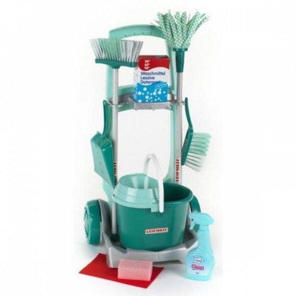 Klein Wózek do sprzątania Leifheit z akcesoriami