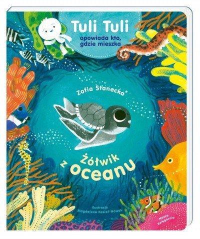 Książeczka Żółwik z oceanu Tuli Tuli