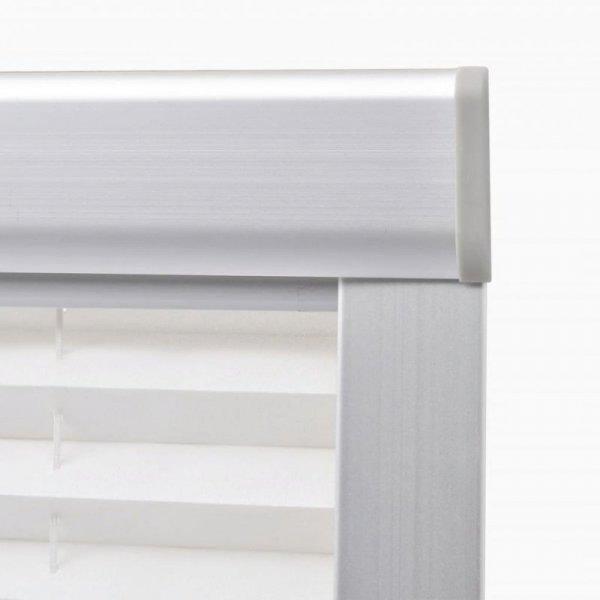 Roleta plisowana, biała, P08/408