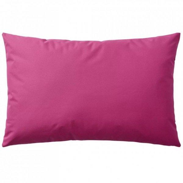 Poduszki na zewnątrz, 2 sztuki, 60x40 cm, kolor różowy