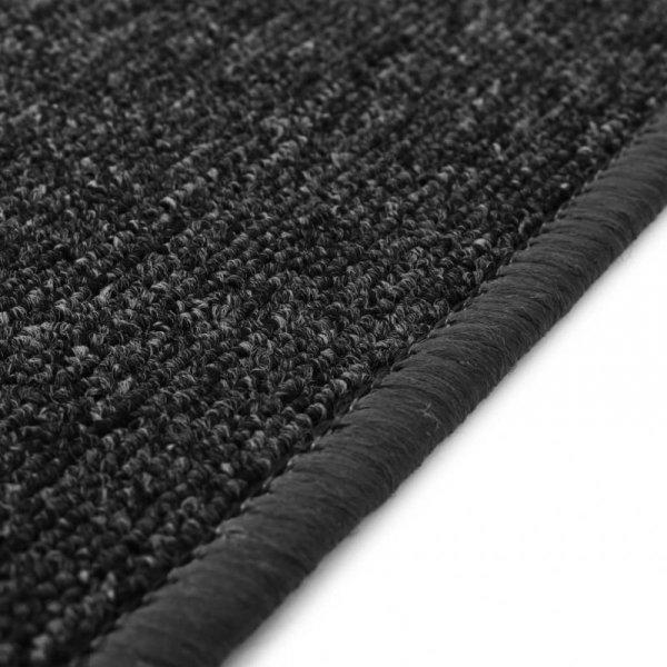 Dywan tuftowany, 80 x 150 cm, antracytowy
