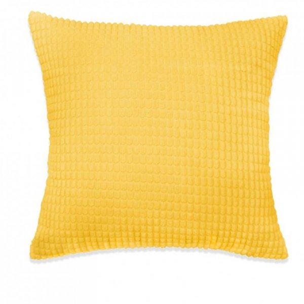 2-częściowy zestaw poduszek, welur, 45x45 cm, żółty