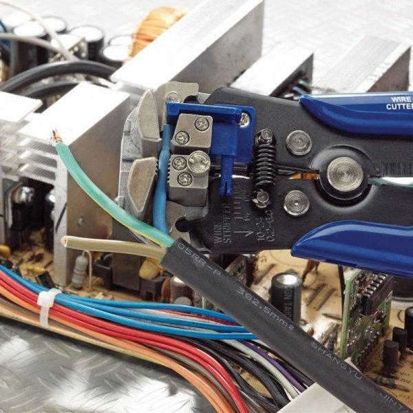 Draper Tools Automatyczny ściągacz/zacisk izolacji, niebieski, 35385