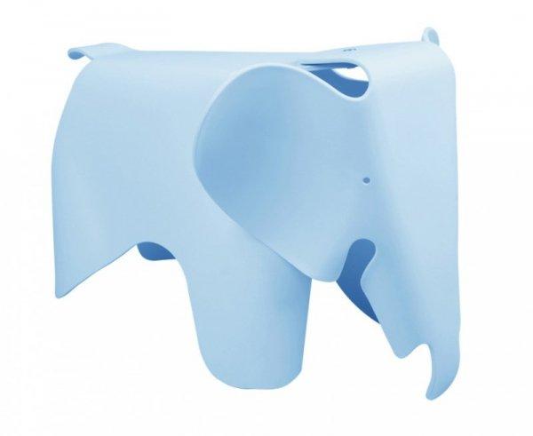 Stołek SŁONIK niebieski - polipropylen
