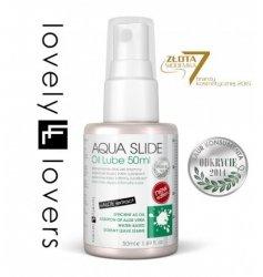 Lubrykant na bazie wody - Lovely Lovers Aqua Slide Oil Lube 50 ml