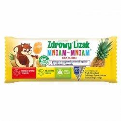 Zdrowy Lizak Mniam-Mniam o smaku ananasowym Starpharma, 6g (płaski)