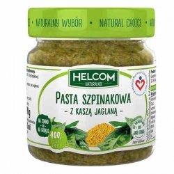 Pasta szpinakowa z kaszą jaglaną Helcom Naturalnie, 190g