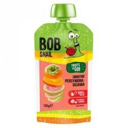 Smoothie persymona-guawa bez dodatku cukru Bob Snail, 120g