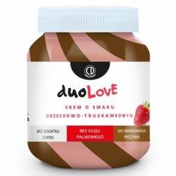 Krem o smaku orzechowo-truskawkowym - DUOLOVE CD, 350g