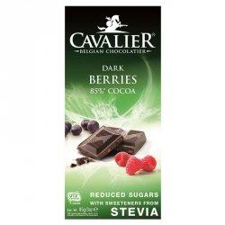 Czekolada deserowa z owocami leśnymi Cavalier, 85g