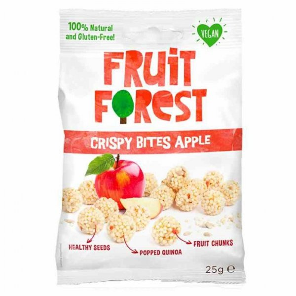 Chrupki jabłkowe Crispy Bites Fruit Forest, 25g