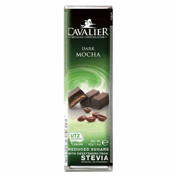 Baton z deserowej czekolady z nadzieniem kawowym Cavalier, 40g