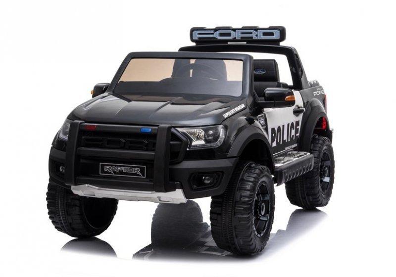 Auto na Akumulator Ford Ranger Raptor Police DK-F150RP Czarny