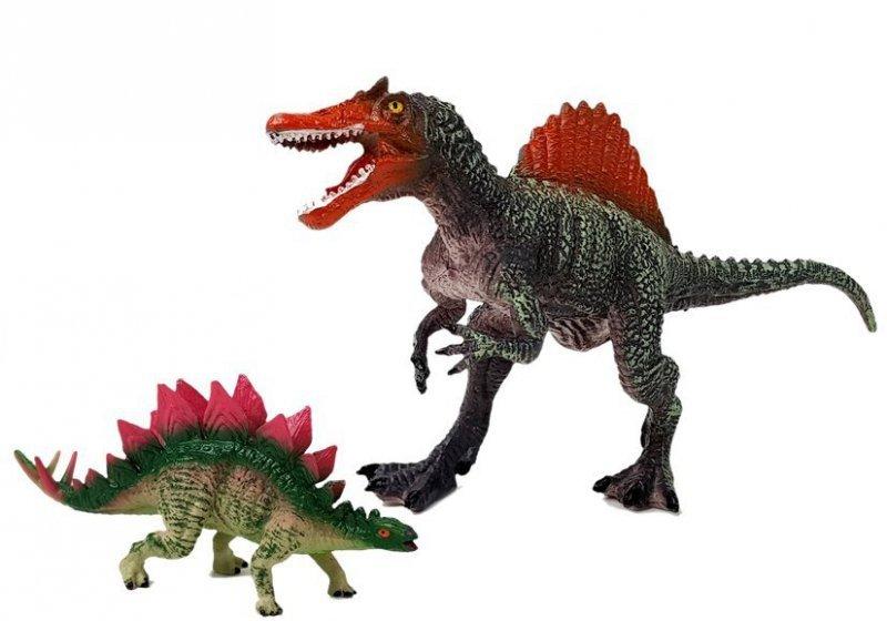 Zestaw Figurek Dinozaur Spinosaurus, Stegosaurus