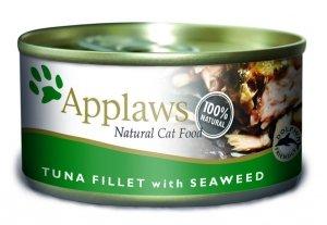APPLAWS Tuna Fillet & Seaweed (puszka Tuńczyk & Wodorosty) 70g [1009]