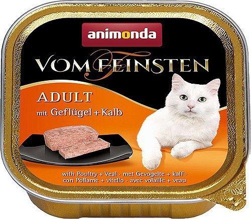 ANIMONDA Vom Feinsten Adult szalka z drobiem i cielęciną 100 g