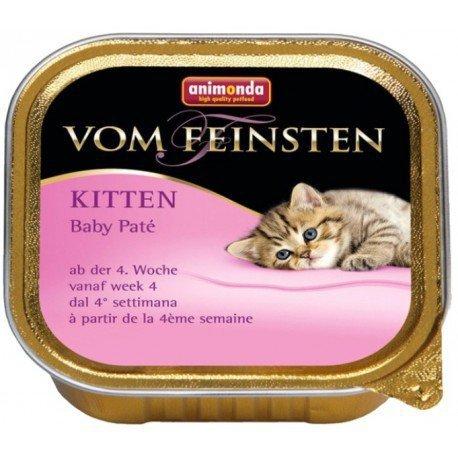 ANIMONDA Vom Feinsten Baby-Paté szalka pasta mięsna od 4 tygodnia życia 100 g