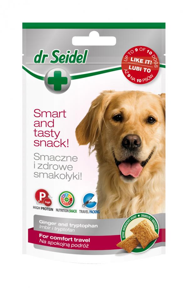 DR SEIDEL SMAKOŁYKI na spokojną podróż dla psów 90 g