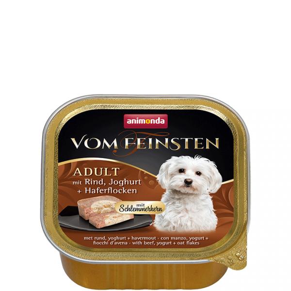 ANIMONDA Vom Feinsten Gourmet Centre szalki z woł. jogurtem płatki owsiane 150 g