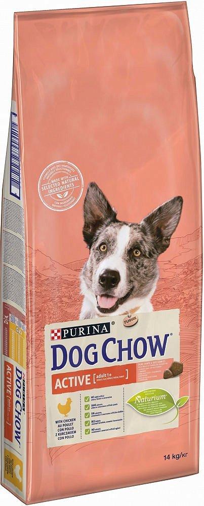 PURINA DOG CHOW ACTIVE Kurczak 14kg