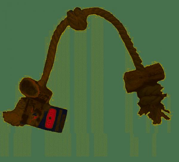 4DOGS SZARPAK GRYZOLINA STRING DOUBLE M MIX 40 cm