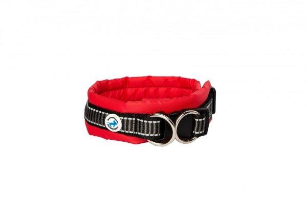 ALL FOR DOGS Klasyczna obroża Czerwona L