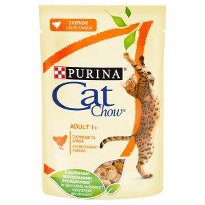 PURINA CAT CHOW ADULT GiJ Kurczak Cukinia 85g