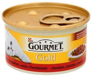 GOURMET GOLD - Casserole wołowina i kurczak 85g