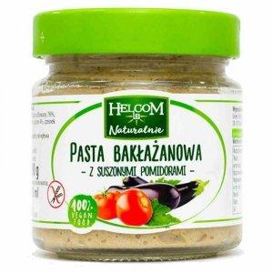 Pasta bakłażanowa z suszonymi pomidorami Helcom, 190g
