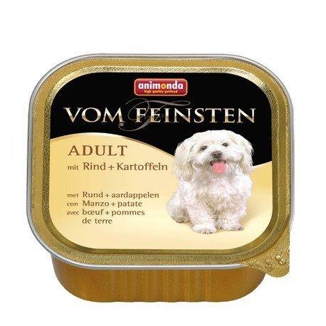 ANIMONDA Vom Feinsten Adult szalki z wołowiną i ziemniakami 150 g