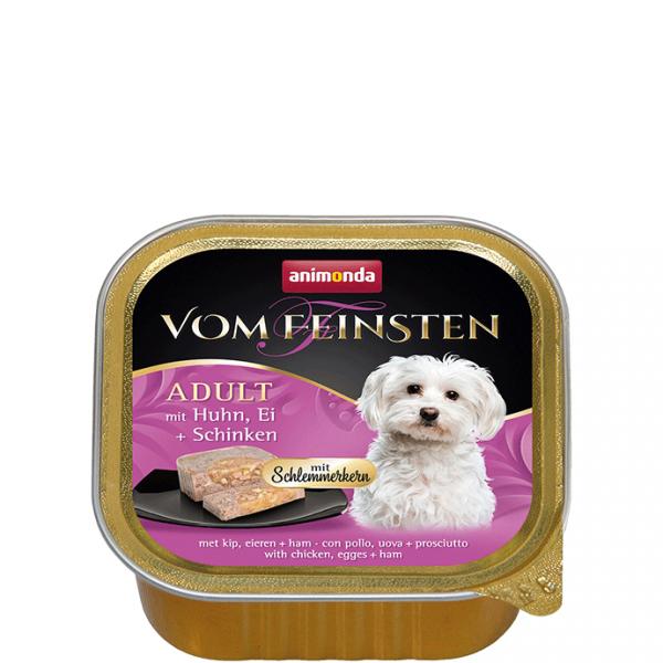 ANIMONDA Vom Feinsten Gourmet Centre szalki z kurczakiem jajkiem i szynką 150 g