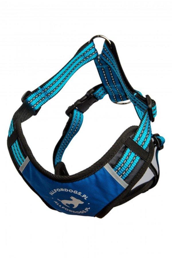ALL FOR DOGS Sportowe Szelki Niebieskie XS