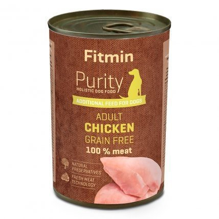 FITMIN dog Purity tin Chicken 400g
