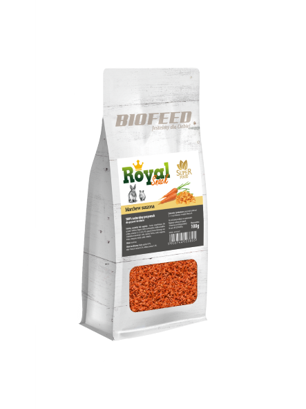 BIOFEED Royal One Snack - Carrot (marchew) 200g