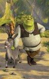 Tapeta fototapeta Shrek i Osioł