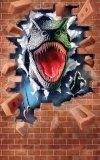 Tapeta fototapeta Dinozaury Wyskakujący Dinozaur