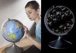 Globus Planetarium konstelacje znaki zodiaku LED
