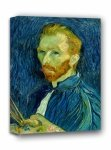 Autoportret 1889, Vincent van Gogh - obraz na płótnie