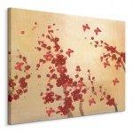 Butterflies & Blossoms - Obraz na płótnie