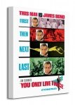 James Bond (You Only Live Twice - Teaser) - Obraz na płótnie