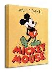 Mickey Mouse (Mickey) - Obraz na płótnie