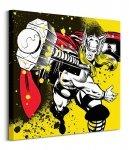 Thor (Splatter) - Obraz na płótnie